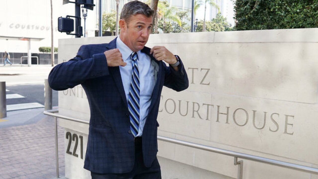 Rep. Duncan Hunter set to be arraigned