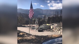 Bridger Canyon family loses home to wildfire