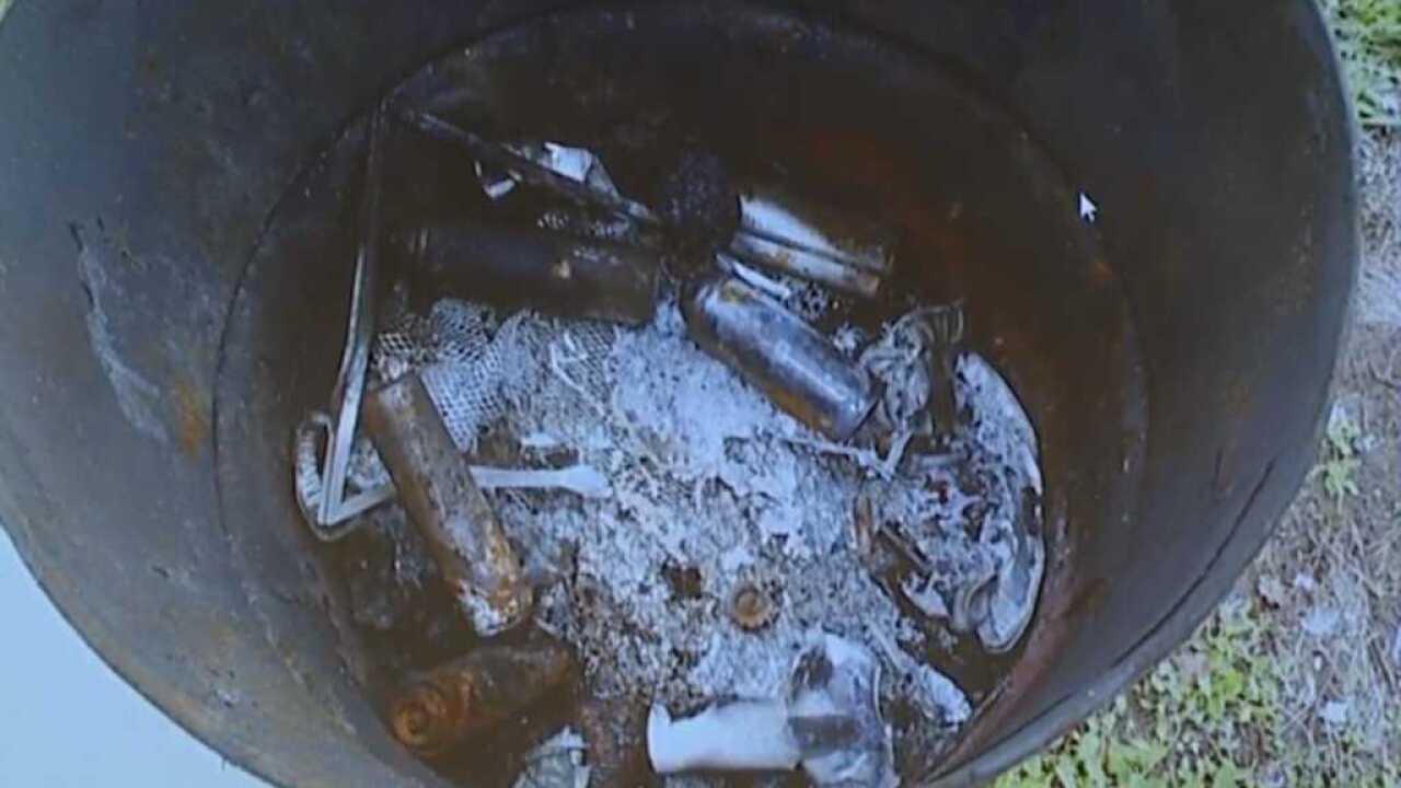 kylr yust trial burn barrel pic contents