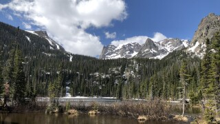 Fern Lake at Rocky Mountain National Park