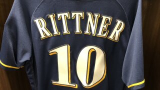 Officer Matthew Rittner Brewers jersey