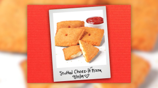 Pizza Hut announces new stuffed Cheez-It pizza