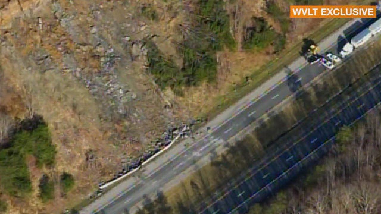 Interstate 75 Lanes Back Open After Rock Slide