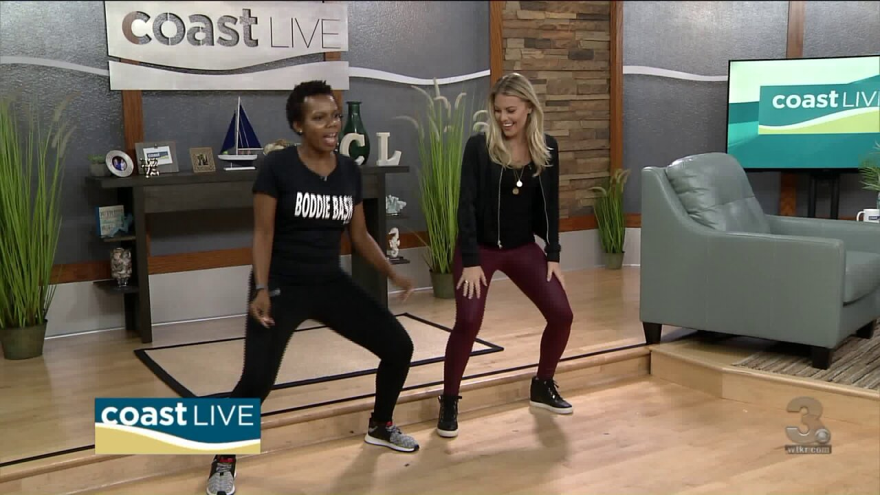 A lesson in low impact cardio workouts with a hip-hop twist on CoastLive