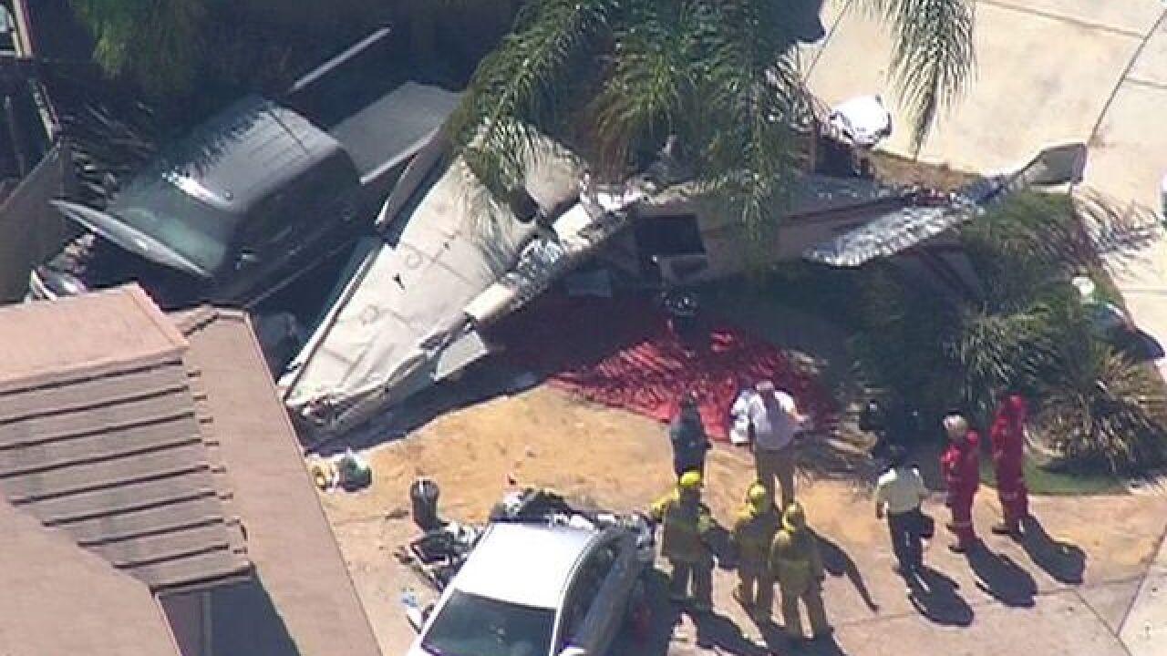 NTSB: No mayday calls before Santee plane crash