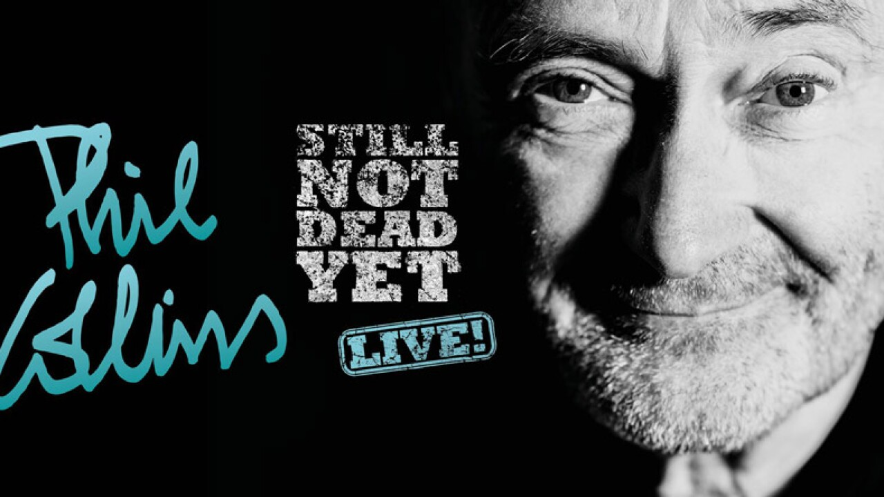 Phil Collins bring Still Not Dead Yet to Vegas