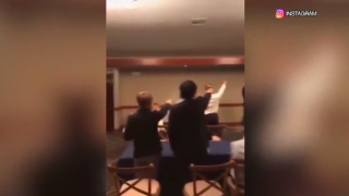 California high school students seen in video giving Nazi salute and singing Nazi marching song