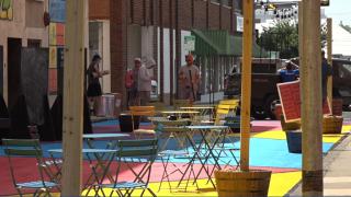 7th Street Pedestrian Plaza