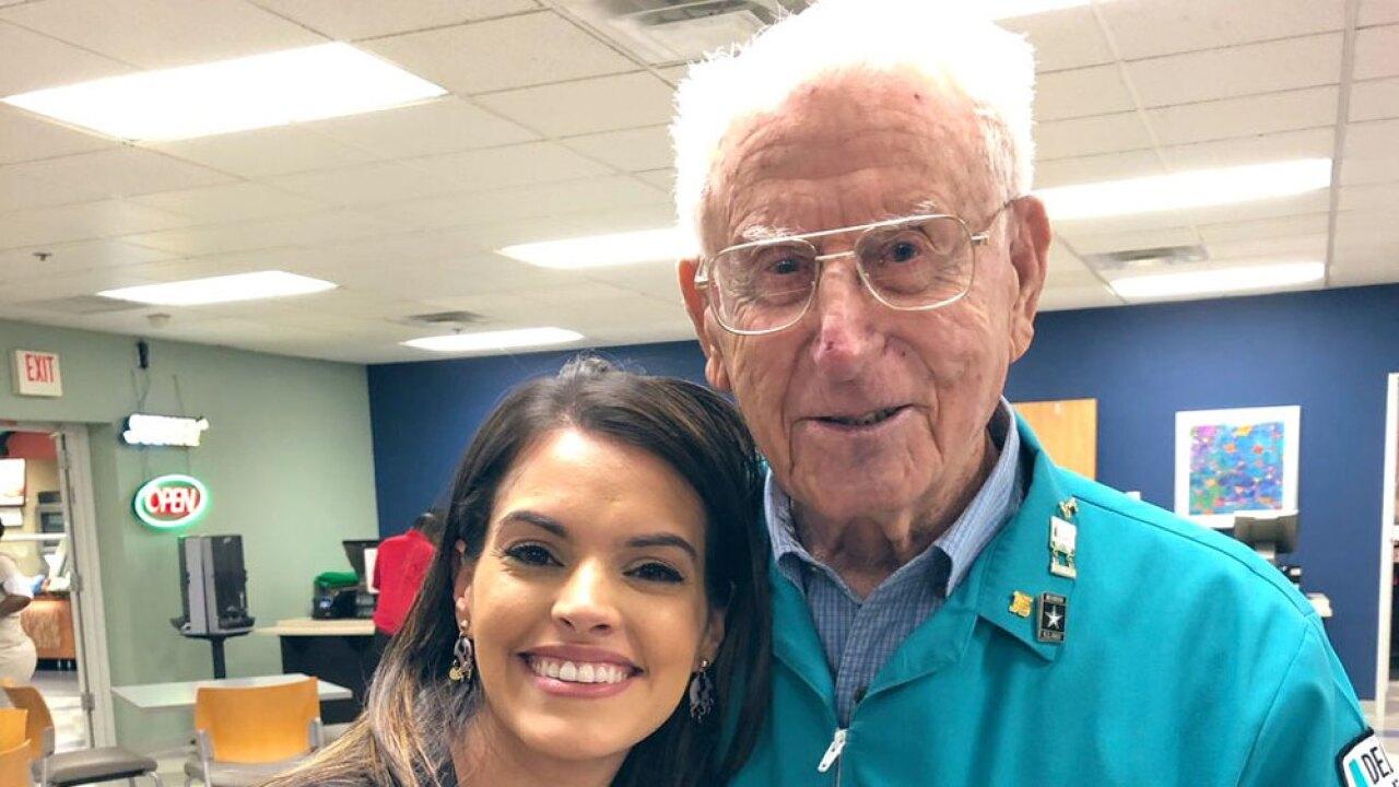 105-year-old honored for volunteer work in Delray Beach