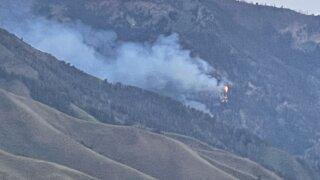 Morgan Canyon Fire