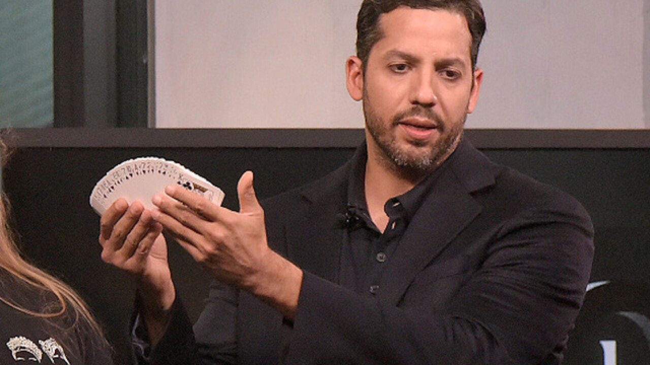 David Blaine wounded after 'Bullet Catch' goes astray