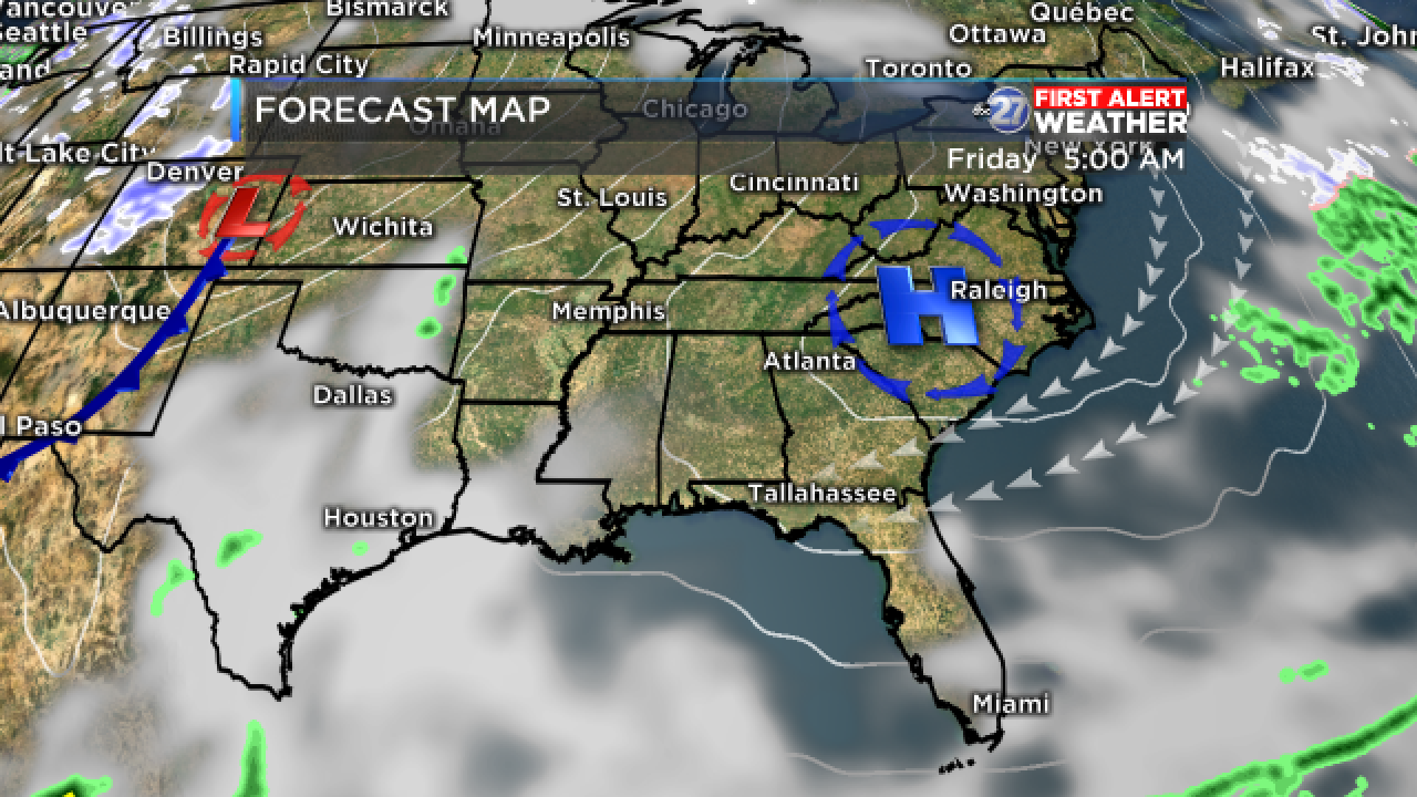 Forecast Map A (01/26/2018)