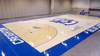 Creighton men's basketball unveils new court design