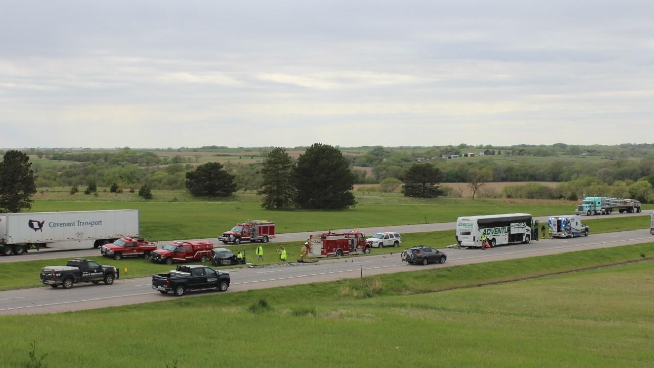 I-80 crash in Seward County