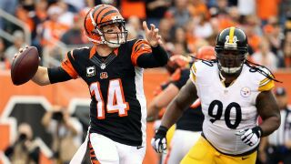 Steelers hope to turn up pressure on Andy Dalton