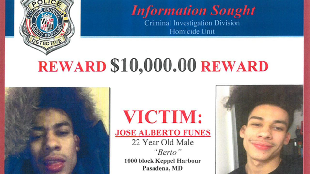 $10,000 reward offered for Laurel murder suspect