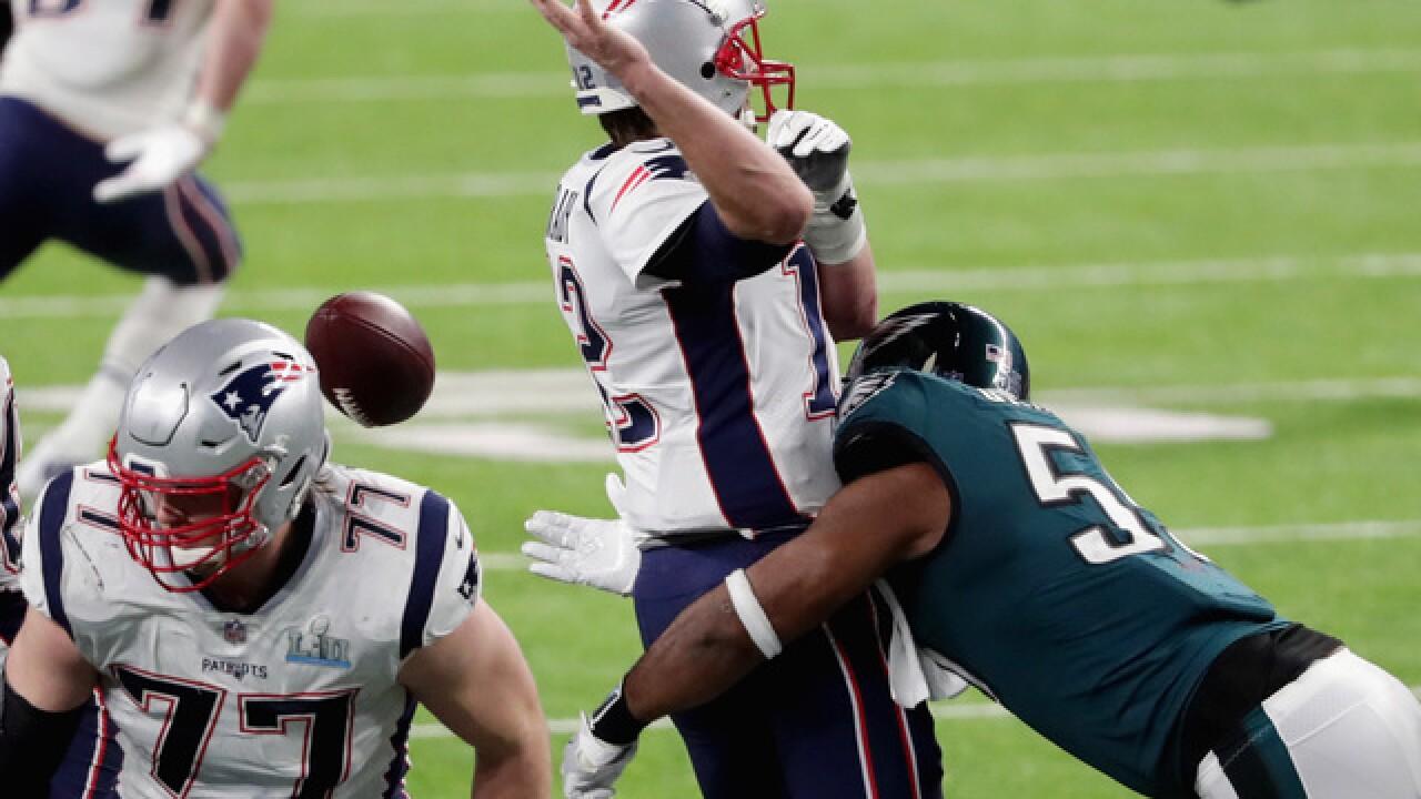 c2414d80e22 Brandon Graham's strip-sack of Tom Brady hands Super Bowl to Eagles