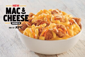 KFC reignites the fast food wars with mac and cheese bowls
