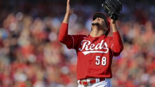 Braves Reds Baseball