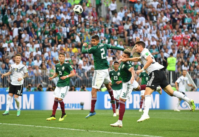 PHOTOS: Mexico upsets World Cup champion Germany 1-0