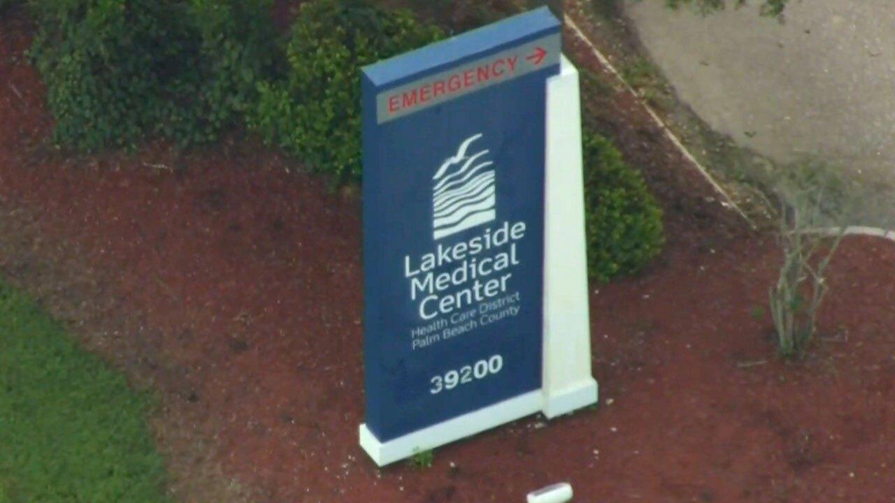 Lakeside Medical Center near Belle Glade on Aug. 16, 2021