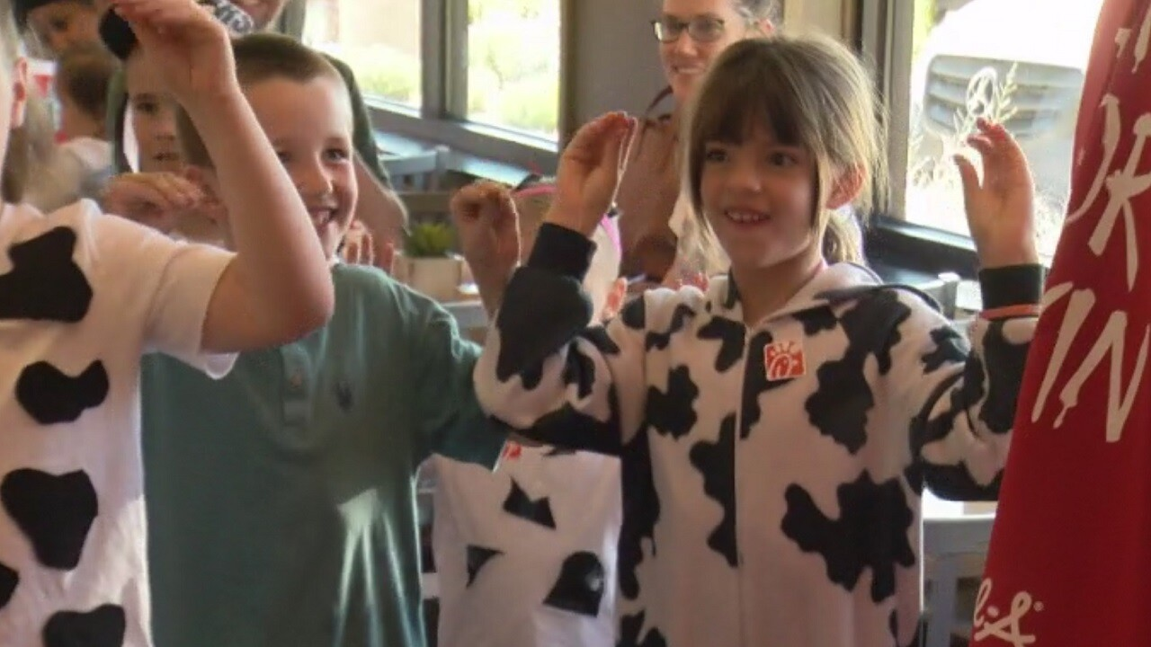 Chick-Fil-A wants you to eat more chicken by dressing up like a cow
