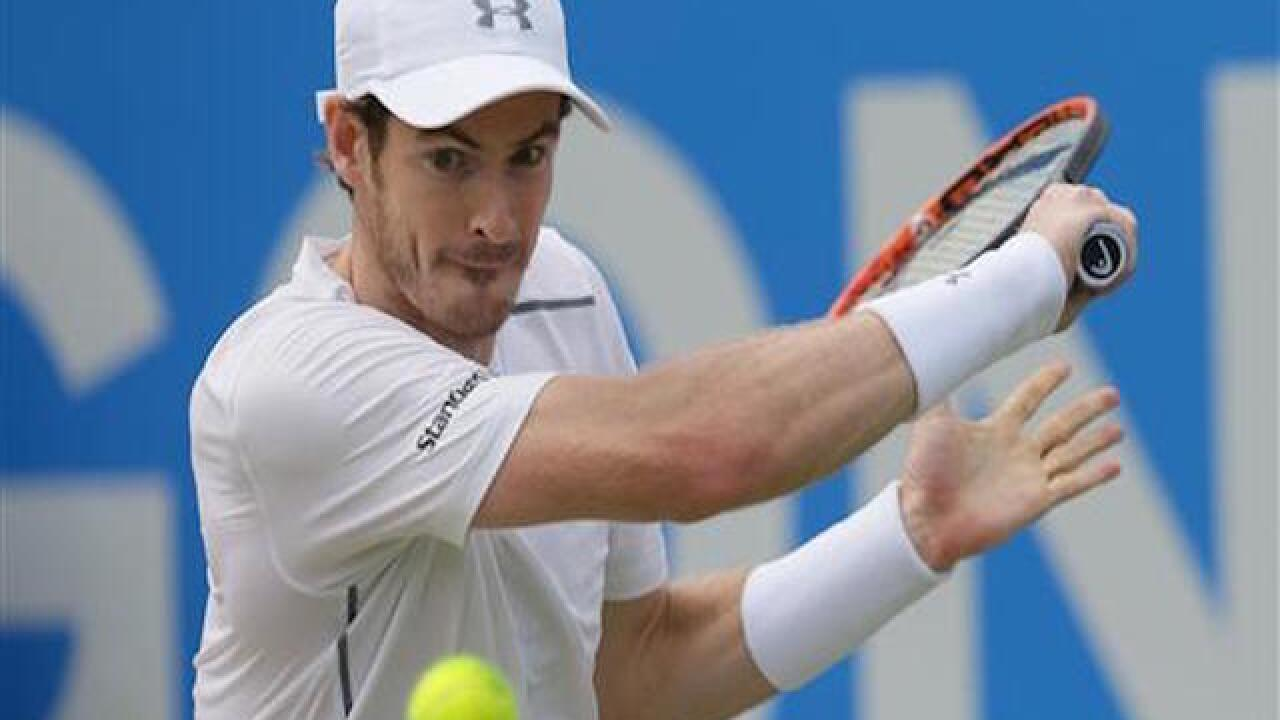 Djokovic, Murray seeded 1st and 2nd at Wimbledon