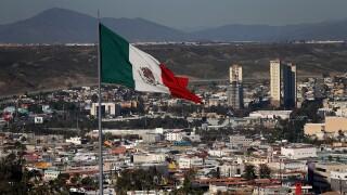 Mexican flag in Tijuan