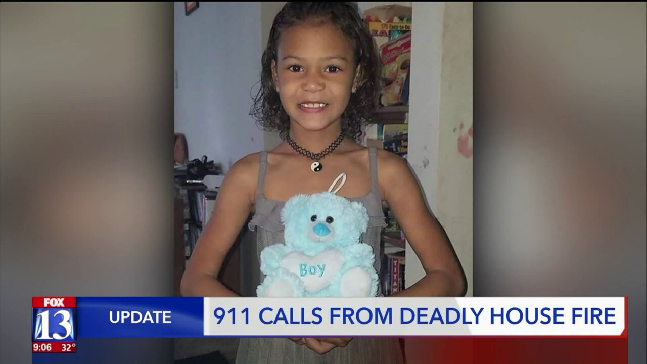 Frantic 911 calls during house fire that killed woman and 7-year-old granddaughterreleased