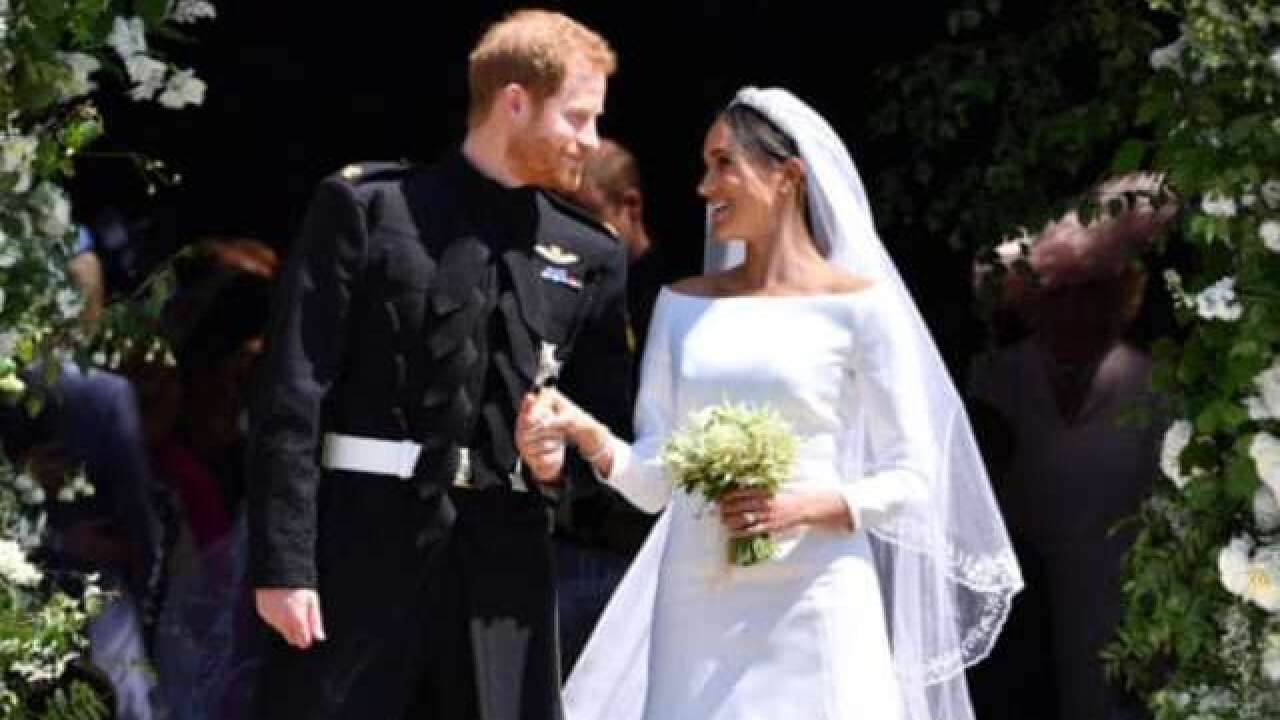 Meghan Markle's wedding dress to go on display in England