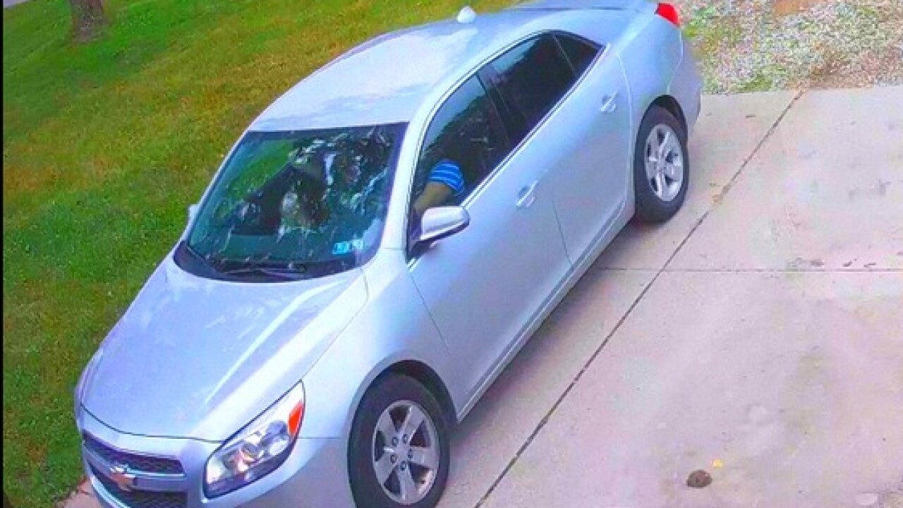 Police search for 'porch pirate' in Chesterfield