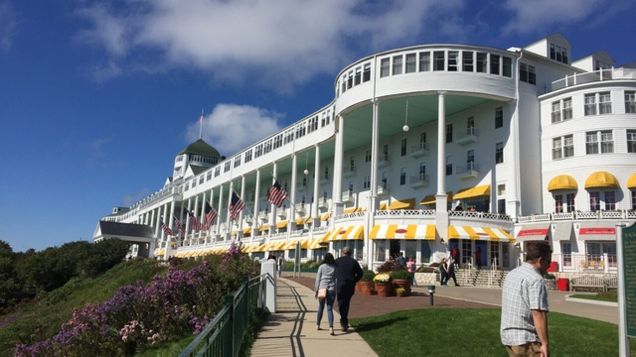 VOTE: Grand Hotel on Mackinac Island in the running for Best Historic Hotel