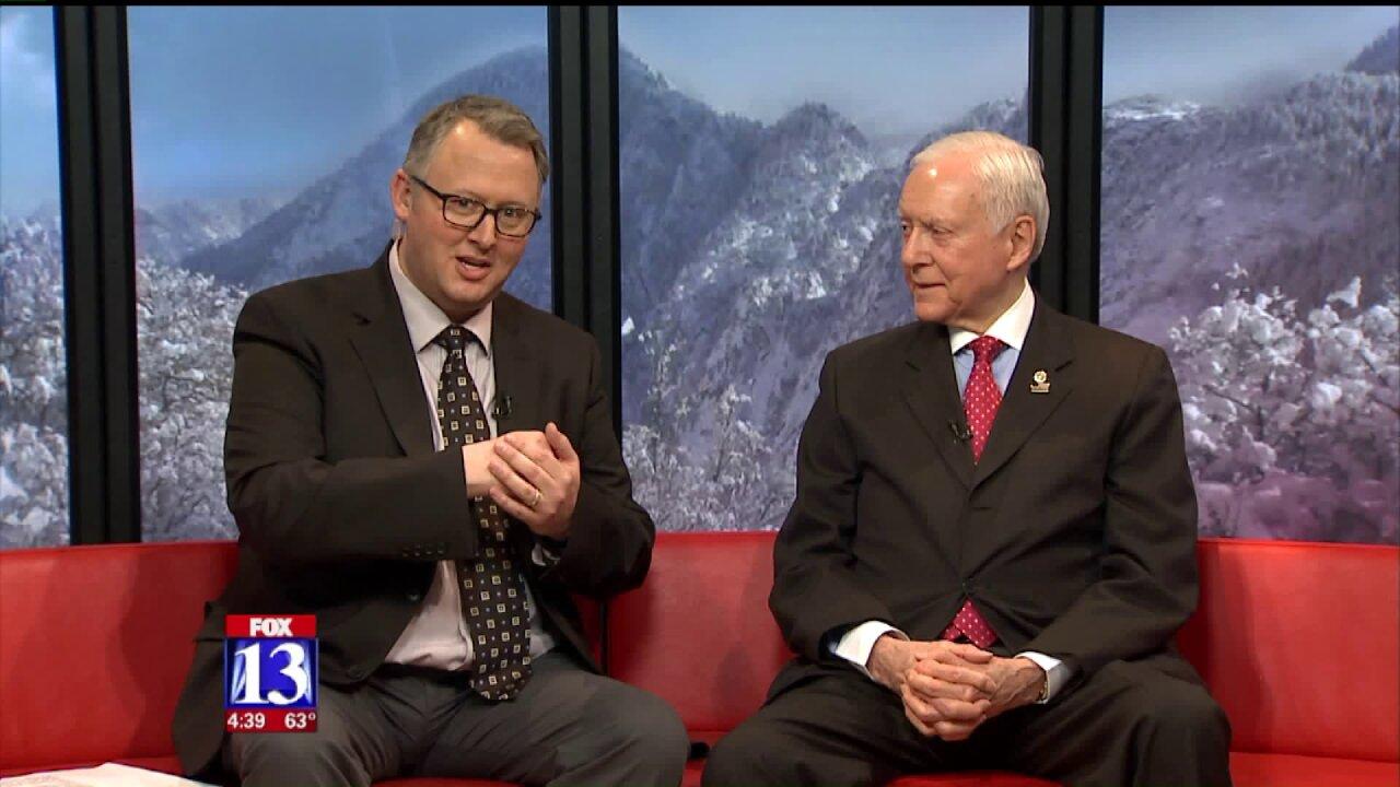 Sen. Orrin Hatch talks Russia, Trump tweets, and plans for2018