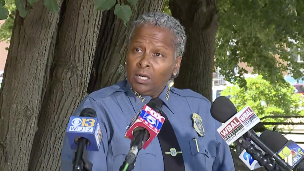 Anne Arundel County Police Chief Amal Awad