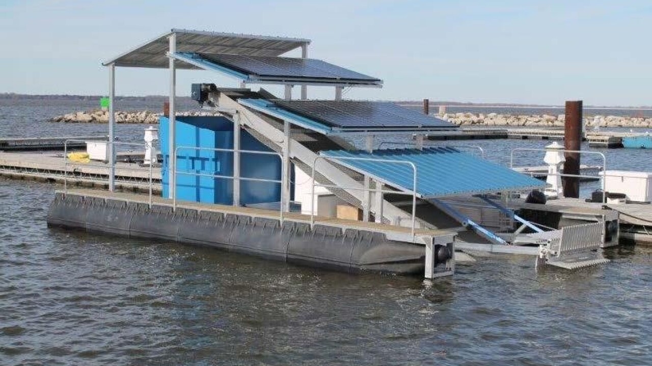 Port's new investment looks to keep bays clean
