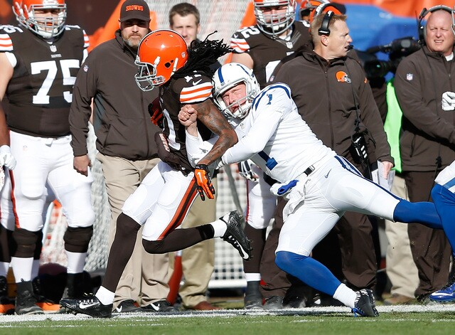 PHOTOS: Pat McAfee on - and off - the field