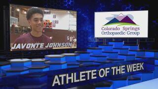 KOAA Athlete of the Week: Javonte Johnson, Cheyenne Mountain Indians