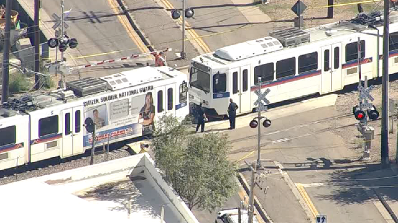 Pedestrian struck, killed in light rail crash in Denver