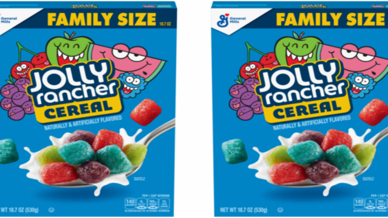 You Can Now Eat Jolly Ranchers Cereal For Breakfast