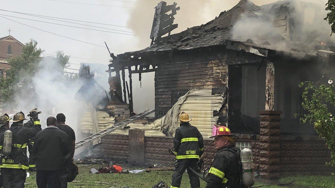 Southwest Detroit house fire