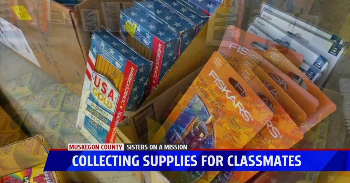 Muskegon sisters working to help students this school year