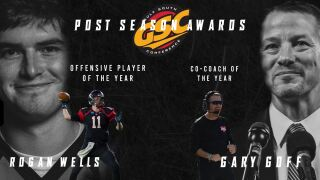 13 Blazers Named to GSC All-Conference Teams; Wells and Goff Earn Player and Co-Coach of the Year Honors, Respectively