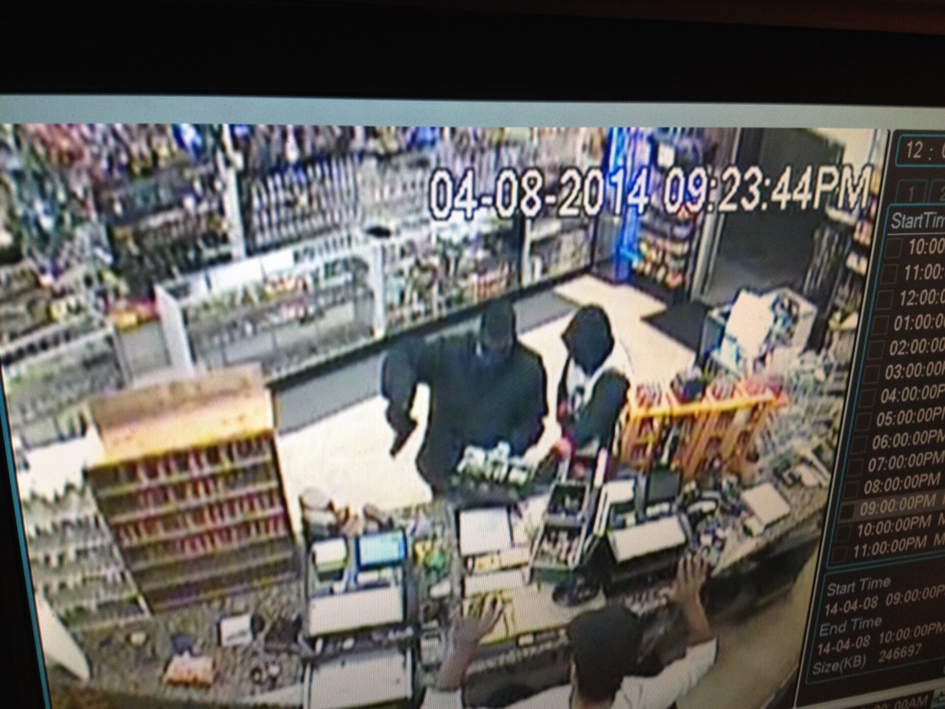 Photos: Police release photos of suspects in robbery at smokeshop