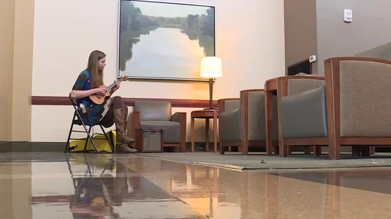 Ukulele Player Volunteers To Soothe & Cheer-Up Patients, Families At Vanderbilt Health
