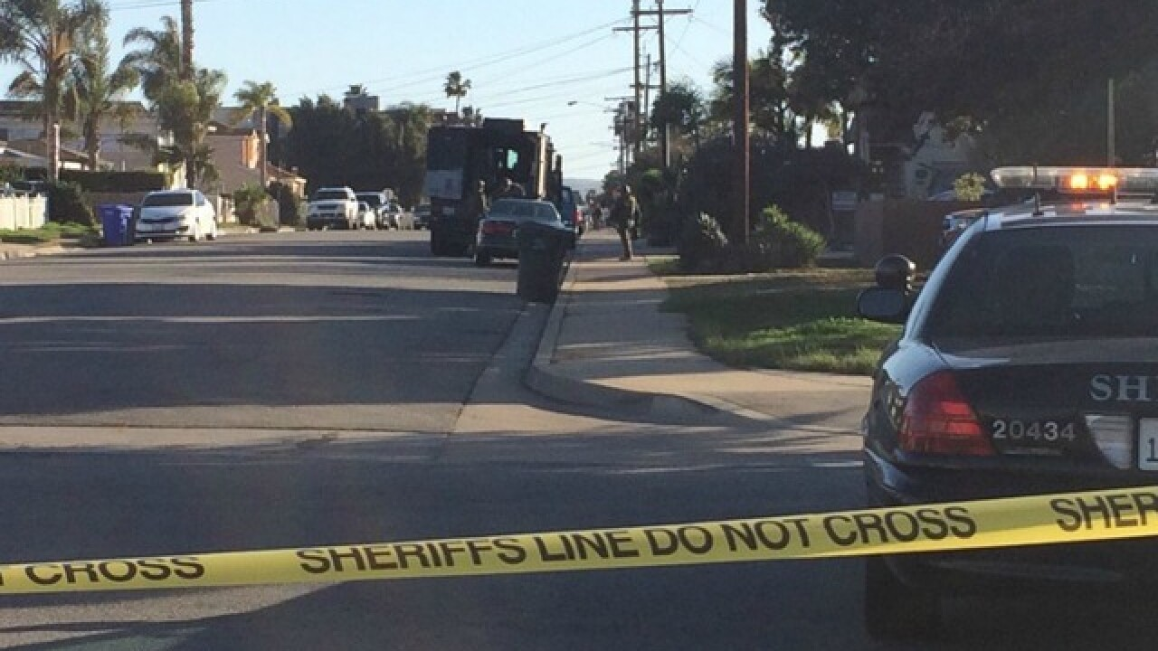 SWAT standoff underway in Imperial Beach