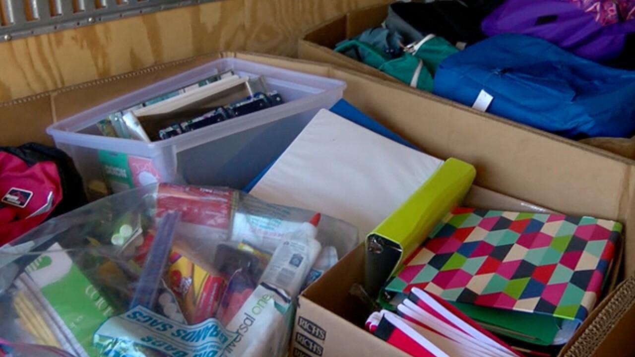 Schools helping schools after hurricane