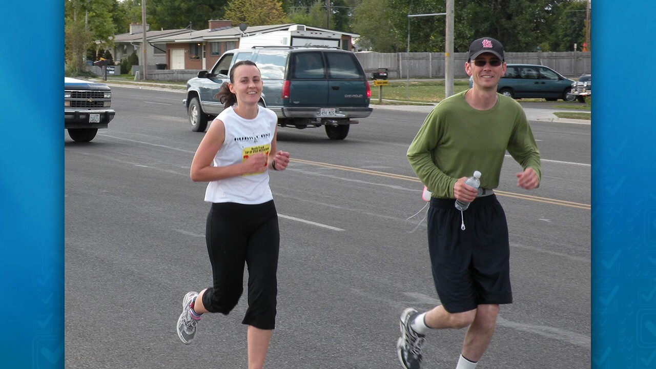 Photos: Marathon runner's Gift of Hope allows cousin to go for gold at TransplantGames