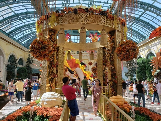 PHOTOS: 2018 Fall display in Bellagio Conservatory
