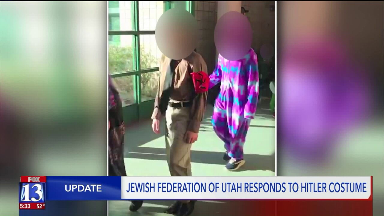 After child dresses as Hitler for school Halloween parade, Jewish organization hopes to help school move forward