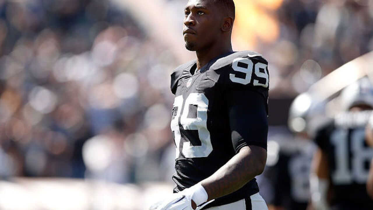 Arrest warrant issued for Pro-Bowl Oakland Raider Aldon Smith